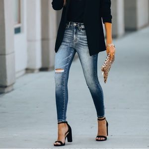 VICI BESTSELLER High waisted skinny jeans 3-25